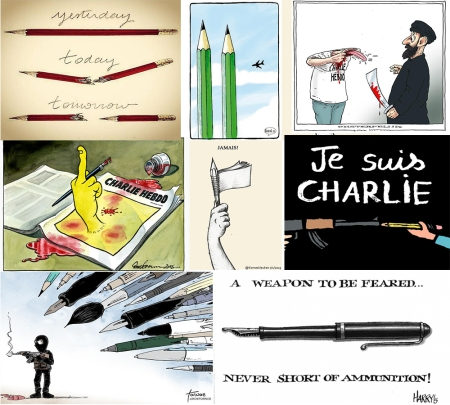 CharlieHebdoCartoons